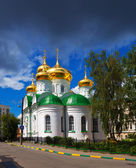 Temple of St. Sergiy Radonezhsky in Nizhny Novgorod — Stock Photo