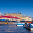 View of St. Petersburg. Moyka River - Stock Photo