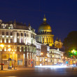View of St. Petersburg in night — Stock Photo #24183357