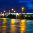 Palace Bridge in night — Stock Photo #24183789