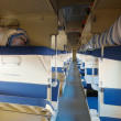 Interior of  sleeping car — Stock Photo
