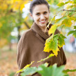 Beauty woman in september — Stock Photo #24184081