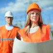 Two workers — Stock Photo