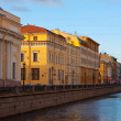 View of St. Petersburg. Griboyedov Canal - Stock Photo