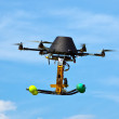 Remote controlled flying craft - Stock Photo