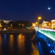 View of St. Petersburg in night — Stock Photo #24185731