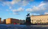 St. Isaac's Square. Saint Petersburg, Russia — Stock Photo