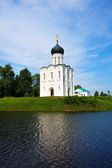 Church of Intercession on the River Nerl — Stock Photo