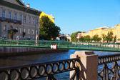 Vista de São Petersburgo — Fotografia Stock
