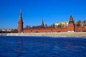 Kremlin de Moscou en hiver. Russie — Photo