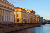 View of St. Petersburg. Griboyedov Canal — Stockfoto