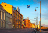 View of St. Petersburg in morning — Stock Photo
