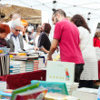 Street stalls in Saint George day — Stok Fotoğraf #25913757
