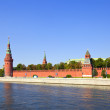 Stock Photo: Moscow Kremlin and MoskvRiver