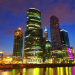 Skyscrapers of Moscow city business center — Stock Photo #25913941