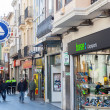 Stock Photo: Shopping street of Badalona. Barcelona, Spain