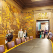 Stock Photo: Hall Expansion Ciudadanof city hall of Barcelona