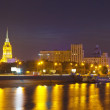 View of Moscow in summer night — Stock Photo #25914879