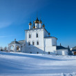 Stock Photo: Trinity Cathedral at Gorokhovets in winter