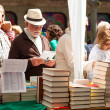 Stock Photo: Books on street stalls in Sant Jordi
