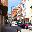 Rafael de Casanova street in Badalona — Stock Photo
