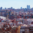 View of Barcelona from Badalona Municipality — Stock Photo