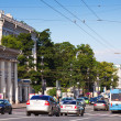 Nevsky Prospect in Saint Petersburg — Stock Photo