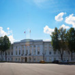 Full panorama of Yaroslavl -  central square — Stock Photo