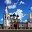 Stock Photo: Church of Elijah Prophet at Yaroslavl in summer