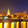 View of Moscow in simmer night — Stock Photo #25916623