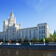 Stock Photo: View of Moscow with KotelnicheskayEmbankment Building