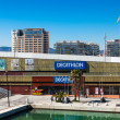 Stock Photo: Decathlon in Port Olimpic. Barcelona, Spain