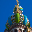 Domes of Church of the Savior on Spilled Blood — Stock Photo #25916935