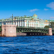 View of St. Petersburg. Palace Bridge — Stock Photo #25917115