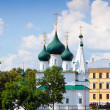 Stock Photo: Church of Our Saviour on the Town in Yaroslavl