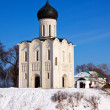 Church of Intercession on River Nerl — Stock Photo #25917171