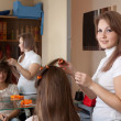 Female hairdresser  — Stock Photo