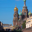 Stock Photo: Church of the Savior on Spilled Blood in St. Petersburg