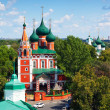 Church of Archangel Michael in Yaroslavl — Stock Photo #25917371