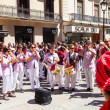 Castellers de Barcelonband — Stock Photo #25917795