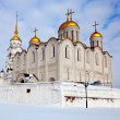 Uspenskiy cathedral at Vladimir in winter, Russia — Stock Photo #25917849