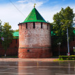 Kremlin at Nizhny Novgorod — Stock Photo
