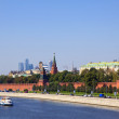 Moscow Kremlin  and   Moskva River - Foto de Stock