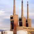Besos power thermal station in Sand Adria   — Stock Photo