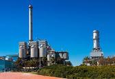 バルセロナでの産業発電所 — ストック写真