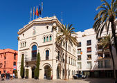 Old Town Hall in Badalona, Catalonia — ストック写真