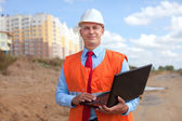 Portrait of white-collar worker — Stock Photo