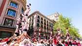 Castell show in Barcelona, Catalonia — Stock Photo