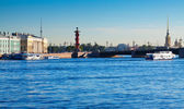 View of St. Petersburg. Palace Bridge — Stock Photo