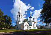 St. Nicholas Church at Yaroslavl in summer — Stock Photo